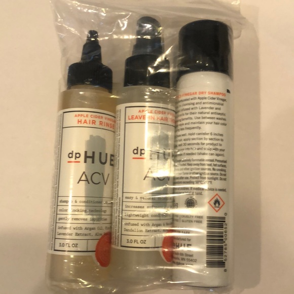 dphue Other - DpHue ACV Travel Set Dry Shampoo Rinse Treatment